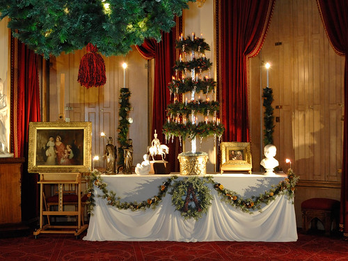 A Victorian gift table at Windsor Castle