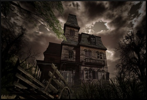 A Haunted  Manor http://maps.secondlife.com/secondlife/River%20Harbour/168/229/22
