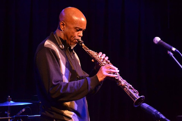 Walt changes it up with Soprano sax at Funk 101