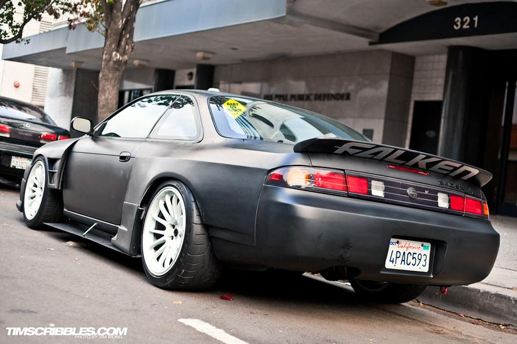 1989 Acura Integra >> Nissan 240sx wide bodykit