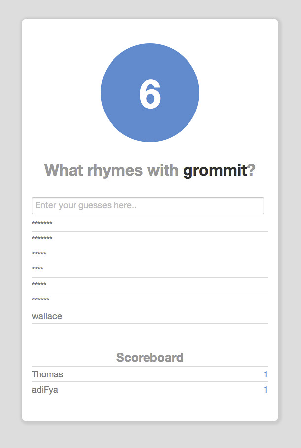 Crowdsourced Rhyme Data