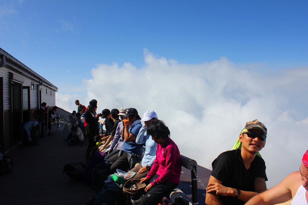 Mt. Fuji experience report (Yoshida route) Part2 (1)