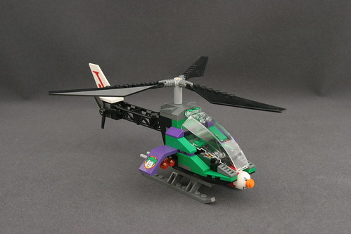 6863 Batwing Battle Over Gotham City - Joker's Helicopter 1