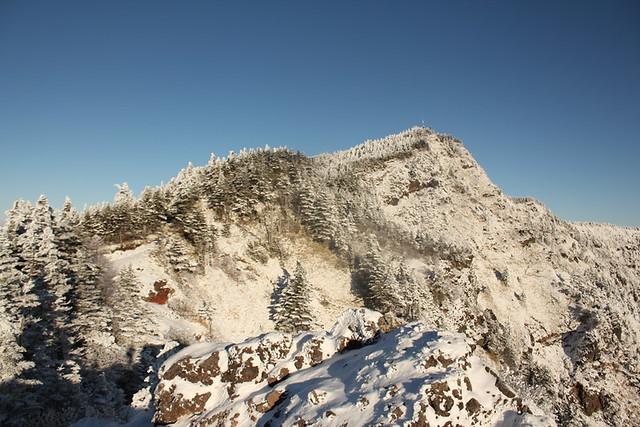 黒斑山山頂