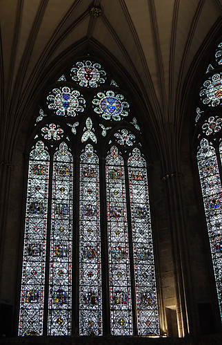 Glass in the Chapter House