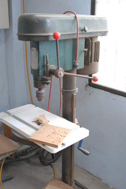 木作堂  鑽床 20111215