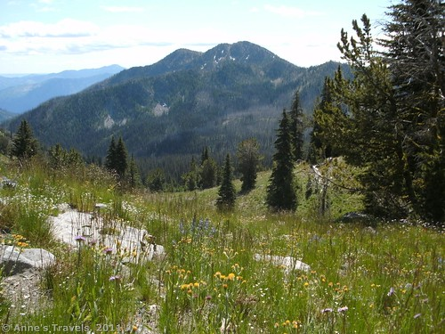 Another view from where we turned around on the Summit Trail, Okanogan-Wenatchee National Forest, Washington