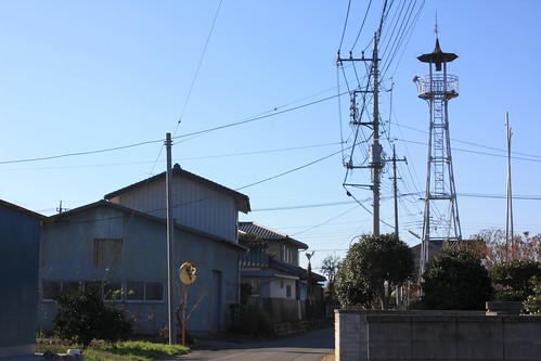 中曽根の火の見櫓(熊谷市・旧大里町)