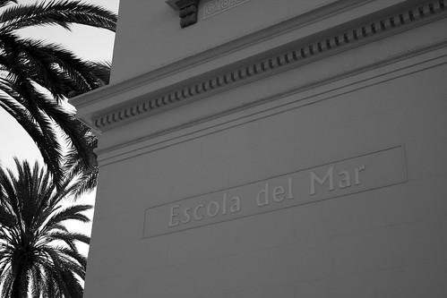 Escola del Mar / Escuela del Mar / Sea school.  Badalona