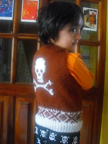 Suéter en proceso