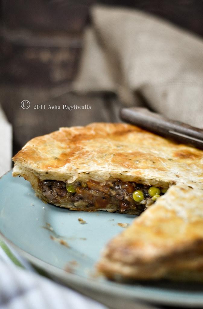 Goat & Peas Pie