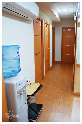 taisan guesthouse hallway