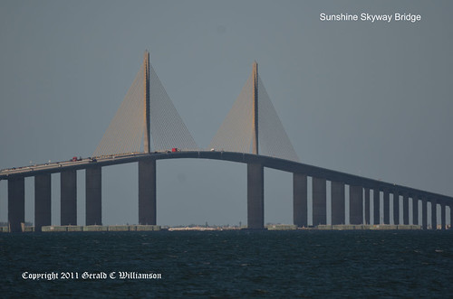 Sunshine Skyway Bridge by USWildflowers, on Flickr