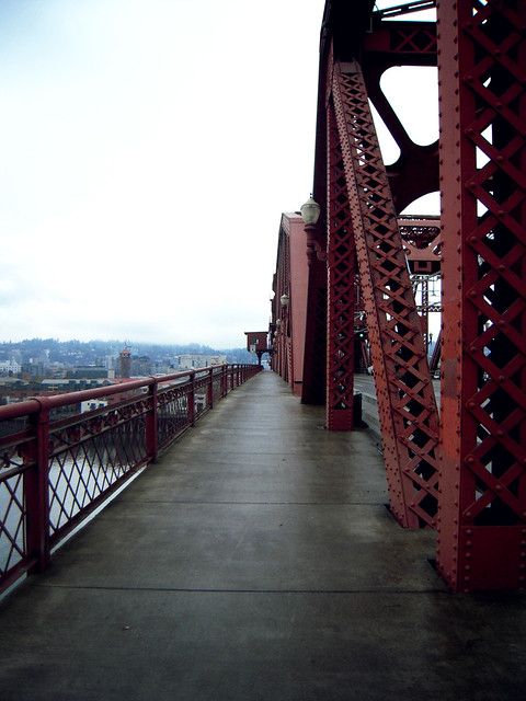 Walking Up the Broadway Bridge
