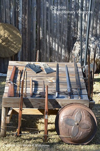 De Soto Expeditionary Weapons by USWildflowers, on Flickr