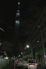 20111223 東京スカイツリーライトアップ
