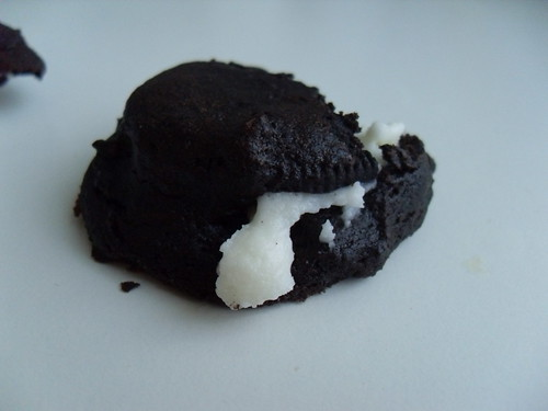 Oreo Stuffed Fudge Cookies