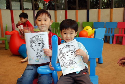 caricature live sketching for Forestque Residence (Wing Tai) - Day 1 - 16