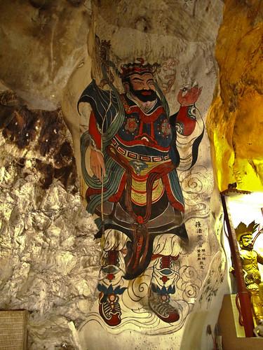 IMG_0044  霹雳洞壁画,Mural from Perak Cave