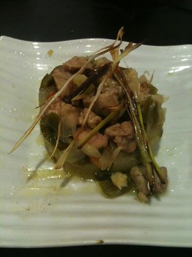 Zaragoza | Evohé | Timbal de fritada con lechecillas de ternasco