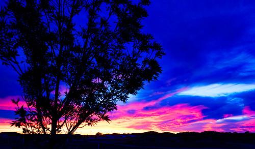 sunset australia mandurah topazadjust