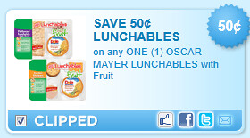 Oscar Mayer Lunchables With Fruit Coupon