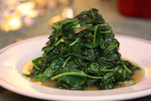 Garlic Wilted Spinach
