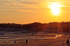 Sunset from Wellfleet Pier