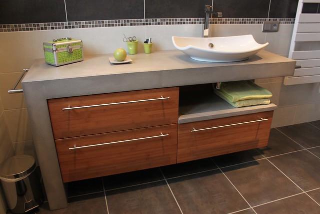 Meuble salle de bain a fabriquer for Cabinet pour salle de bain