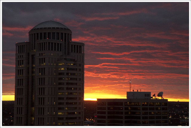 Downtown sunset 2011-12-30 4