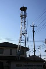 井戸木の火の見櫓(上尾市)