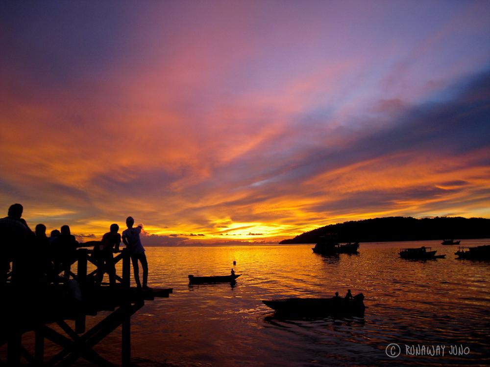 KK Borneo Sunset Jiyeon Juno Kim