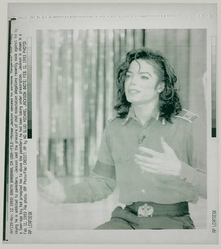 Michael Jackson - Nov. 12, 1993