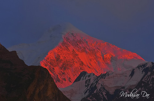 pakistan light sunset snow nature sunrise canon landscape photography nager day dar north peak glacier kkh peaks hunza ahmed gilgit supershot monutains 40d gettyimagespakistanq12012