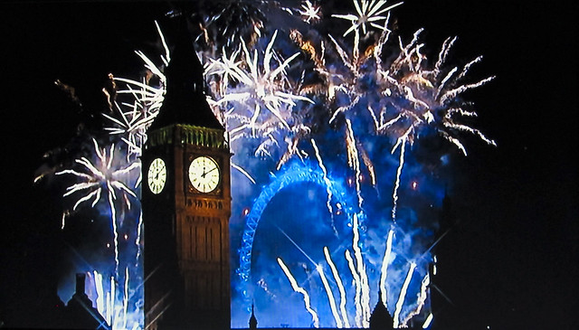 London Fireworks 2012
