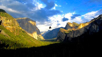 Yosemite (Exposure blending)