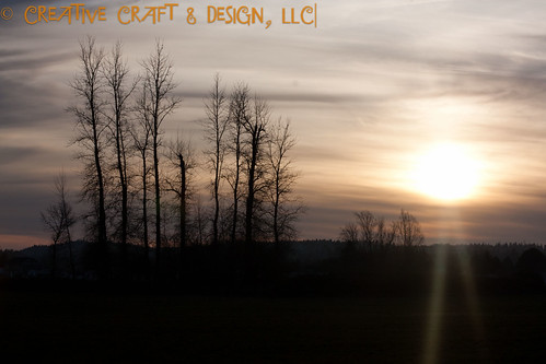 sunset silhouette landscape creativecraftdesignllc
