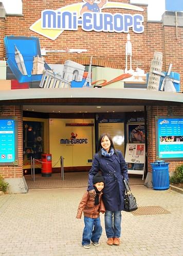 Mini Europe Entrance
