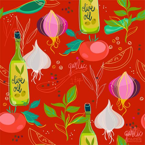 PaperBicycle_TomatoBasilSoup_LindsayNohl_pattern_sm