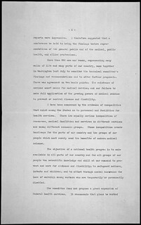 Message of President Franklin D. Roosevelt concerning national health, 01/23/1939 (page 2 of 4)