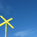 Yellow Cross, Blue Sky
