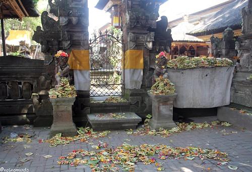Templo no Mercado de Ubud