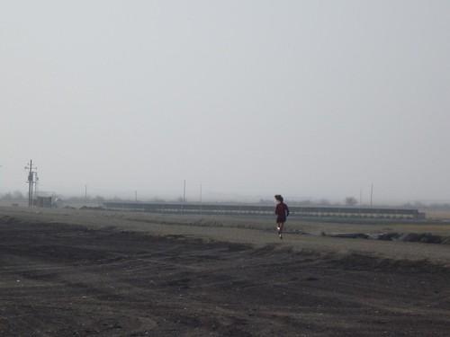 Running near Bakersfield, CA