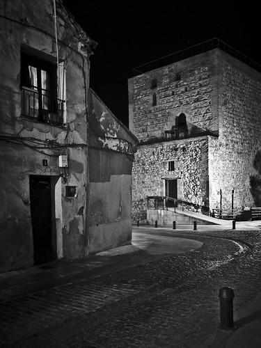 12M12T-Paisaje Urbano-Casco antiguo (Nocturna) por Juan R. Velasco