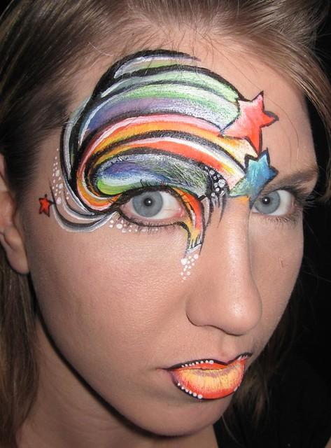 Eye Design Face Paint Flickr Photo Sharing