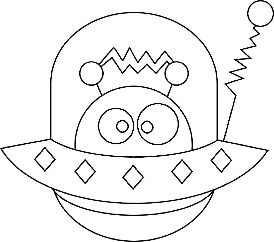 alien coloring pages for teens - photo#13