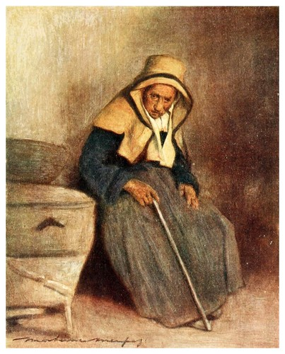 018-Una viejecita-Brittany 1912- Mortimer y Dorothy Mempes