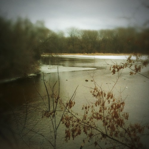 The river today by kim/ber