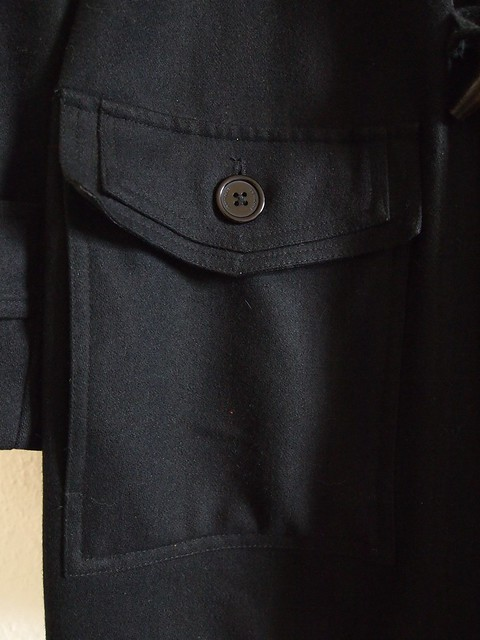 hot sale dior homme duffle coat fw08 sz 52 styleforum. Black Bedroom Furniture Sets. Home Design Ideas