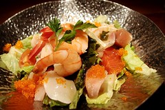 Seafood Salad @ Zakkushi on Main
